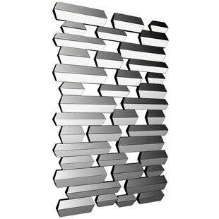 Orren Ellis Malpass Modern Rectangle Wall Accent Mirror