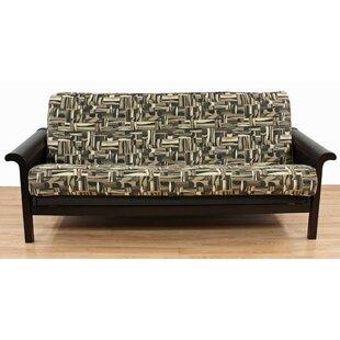 Geometric Box Cushion Futon Slipcover by Easy Fit Savings