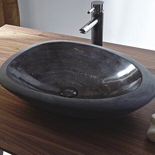 Online Reviews Shell Stone Oval Vessel Bathroom Sink By Eviva