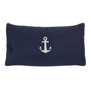 Morado Anchor Beach Outdoor Sunbrella Lumbar Pillow