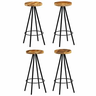 Penrith 76cm Bar Stool (Set Of 4) By Williston Forge