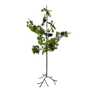 mini x mas 35 greenbrown artificial christmas tree - Charlie Brown Artificial Christmas Tree