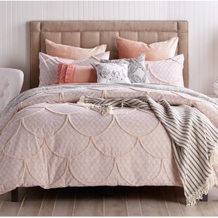 Ropesville Chenille Scallop Single Duvet Cover