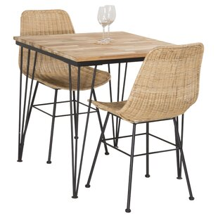 Nectar Extendable Dining Set With 2 Chairs By 17 Stories