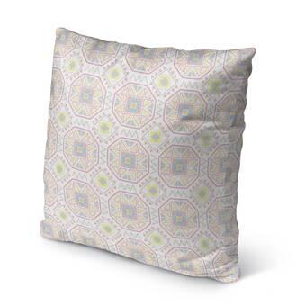 Brayden Studio Wigfall Down Filled 100 Cotton Throw Pillow Wayfair