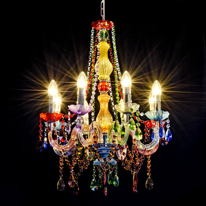 Moseley 8 Light Candle Style Chandelier