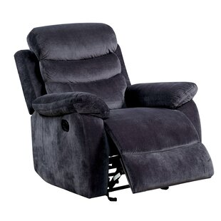Harber Single Seater Glider Recliner Red Barrel Studio