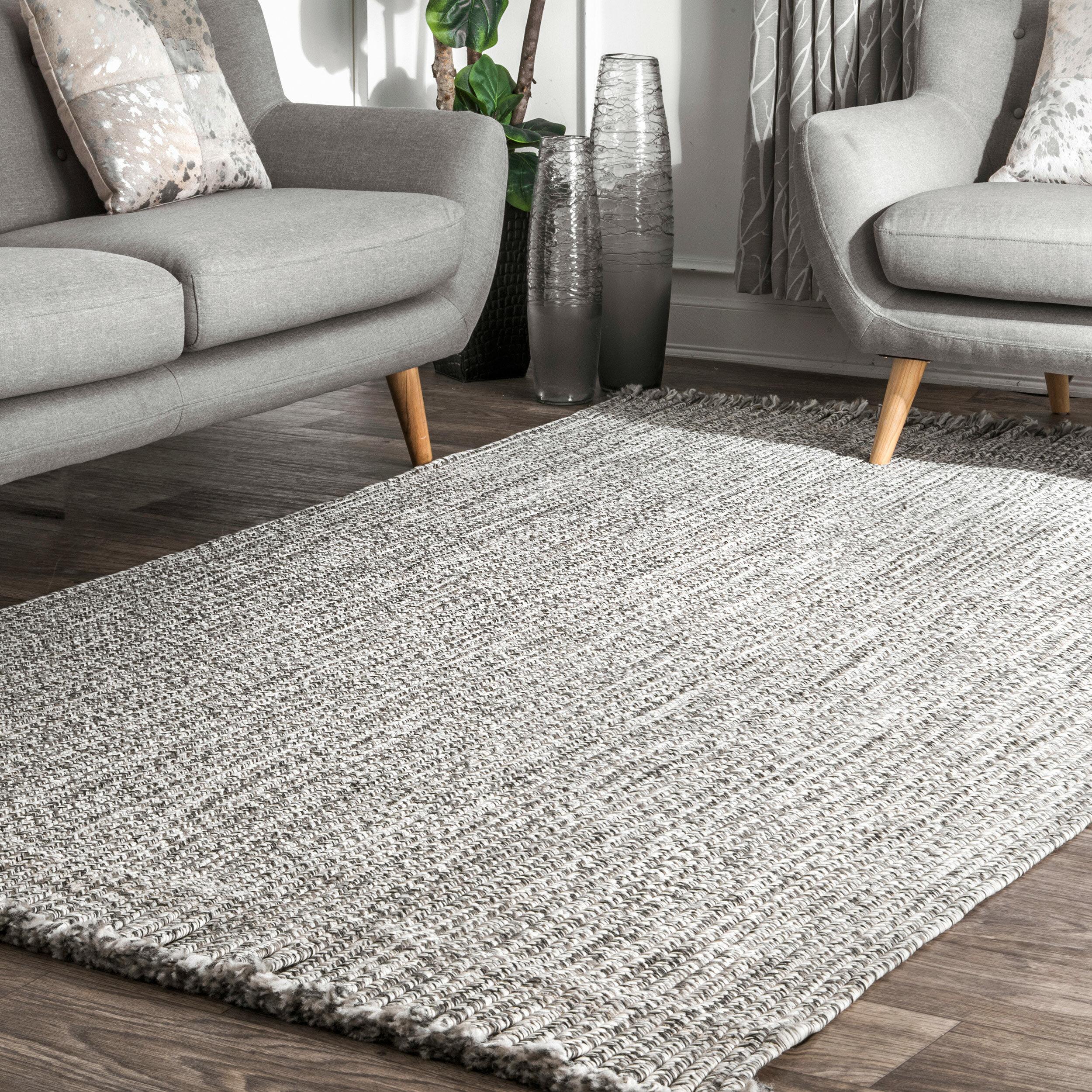 Gray Indoor Outdoor Area Rug