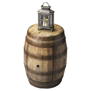 Loon Peak Bradner Barrel End Table