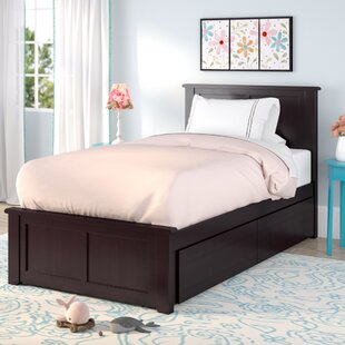 Alanna Platform Bed with Underbed Storage by Harriet Bee