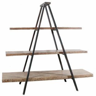 Baroda Rustically Charmed 3-Tier Ramsden Ladder Bookcase by Gracie Oaks 2019 Sale