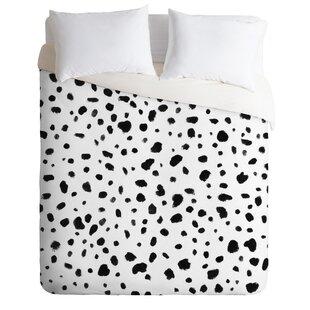 East Urban Home Rebecca Allen Miss Monroes Dalmatian Duvet Set