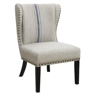 Loretta Wingback Chair by Gracie Oaks