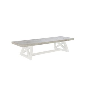Drain Wood Bench By Beachcrest Home