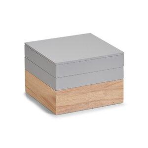 3 tlg. Aufbewahrungsbox von Zeller Present