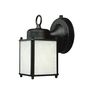Check Prices Builder-ES 1-Light Outdoor Wall Lantern By Designers Fountain