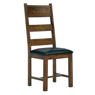 Millwood Pines Sumler Solid Wood Dining Chair (Set of 2)