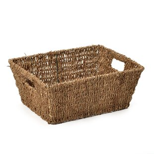Silsbee Seagrass Storage Basket By Brambly Cottage