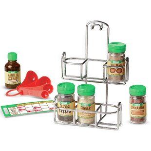 Let's Play House! 11 Piece Baking Spice Set By Melissa & Doug
