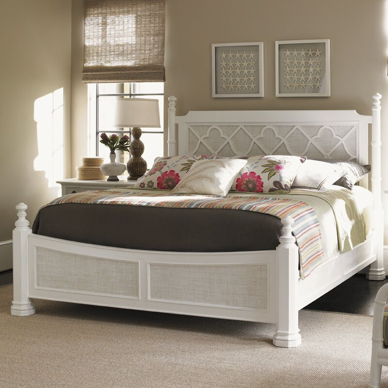 Tommy Bahama Home Ivory Key Canopy Bed Reviews Wayfair