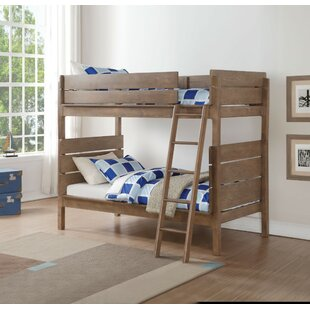 Armillac Wooden Twin over Twin Bunk Bed by Harriet Bee
