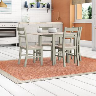 Chatham Folding Dining Set With 4 Chairs By Breakwater Bay