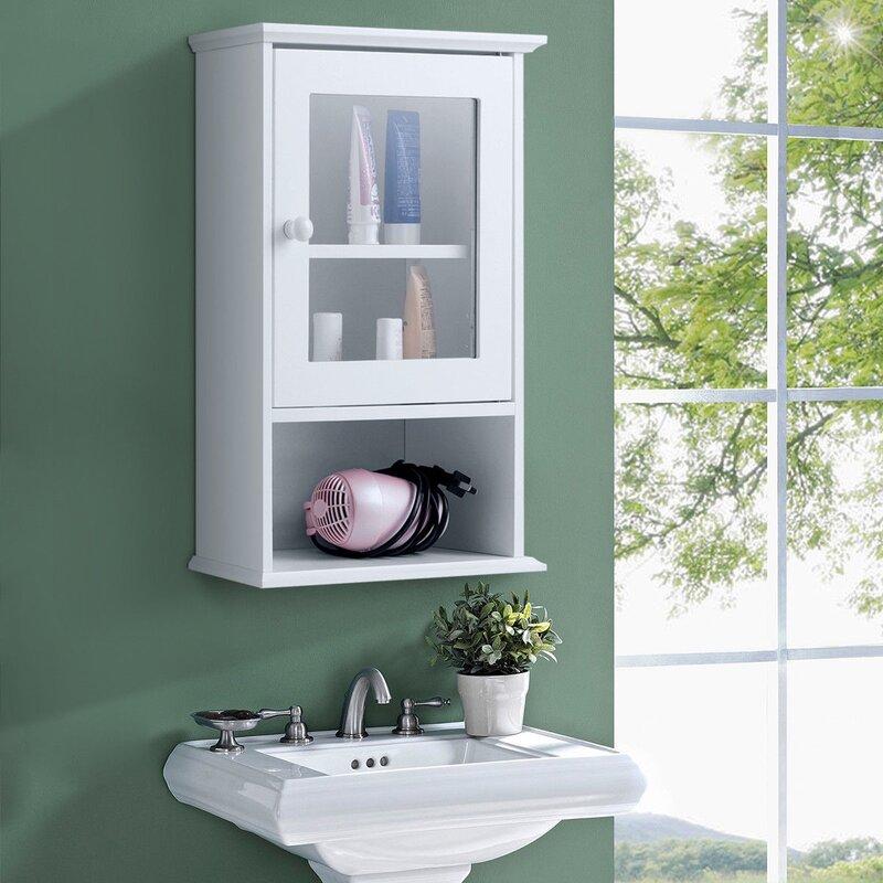 Watqen 14 W X 20 H X 7 D Wall Mounted Bathroom Cabinet Reviews Wayfair