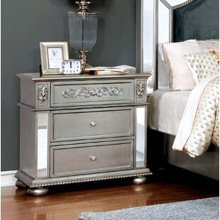 Best Choices Mcdermott Traditional 3 Drawer Nightstand by House of Hampton