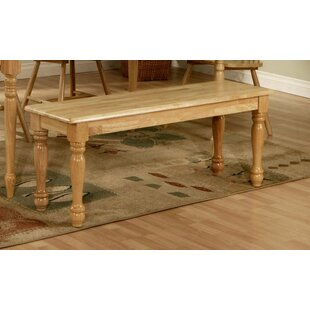 Hornick Wood Bench by August Grove