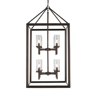 Buy clear Thorne 8-Light Foyer Lantern Pendant By Three Posts