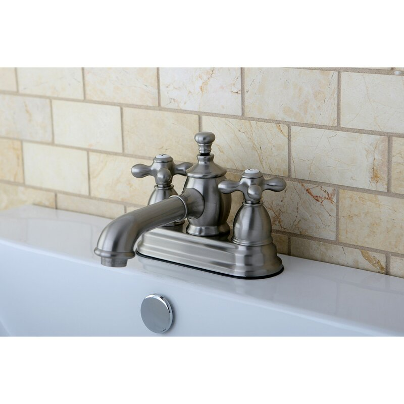 Kingston Brass English Country Centerset Bathroom Faucet With Drain Assembly Wayfair
