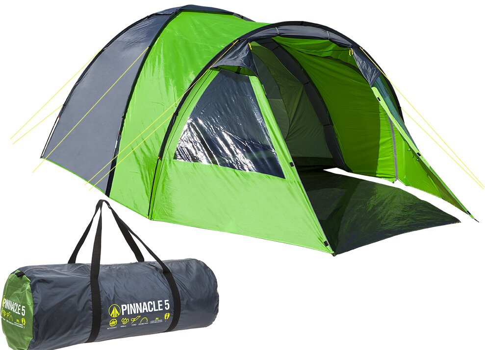 Hydra Pinnacle Double Skin Dome 5 Person Tent with Carry Bag  sc 1 st  Wayfair & SUMMIT Hydra Pinnacle Double Skin Dome 5 Person Tent with Carry ...
