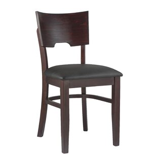Skipton Solid Wood Dining Chair (Set of 2) Charlton Home
