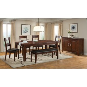 Viola Heights 6 Piece Dining Set by Vilo Home Inc.