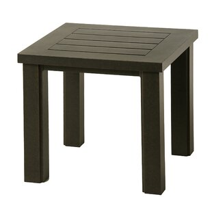 Sebrina Square Aluminum Side Table