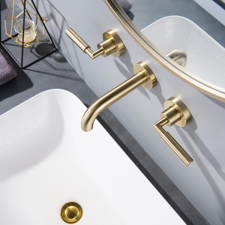 Modland Wall Mounted Bathroom Faucet Reviews Wayfair