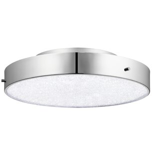 Élan Lighting Crystal Moon 1-Light Flush Mount