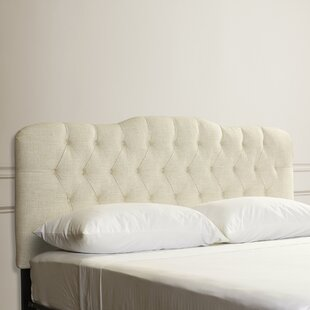 Compare prices Everdeen Handcrafted Tufted Upholstered Panel Headboard by Willa Arlo Interiors