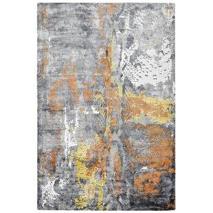 My Taste Handmade Orange/Grey Rug by Obsession