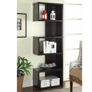 Cyrene Semi Backless Wooden Corner Unit Bookcase Wrought Studio
