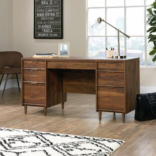 Price Check Cutrer Executive Desk By Mercury Row