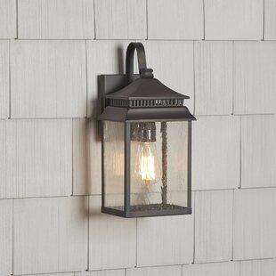 Birch Lane™ Briarfield 1-Light Outdoor Wall Lantern