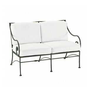 Sheffield Loveseat With Cushions by Woodard Best Design