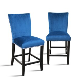 Chaffee 24 Bar Stool (Set of 2) Brayden Studio