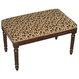 Leopard Wood Bench