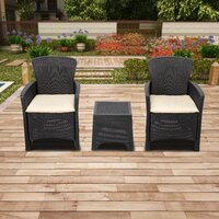 Deals on Ahmeek 3 Piece Seating Group with Cushions
