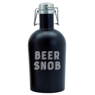 Waldrop Beer Snob Stainless 64 oz. Growler