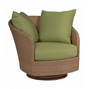 Woodard Oasis Swivel Patio Chair with Cus..
