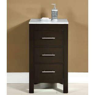 Silkroad Exclusive 3 Drawer Accent Chest