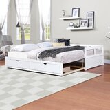 Twin Daybed with Trundle by Keeplus